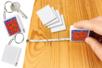 Porte-clés mètre à personnaliser - Porte-clés pour bijoux – 10doigts.fr
