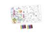 Coffret Poster géant - Activité Coloriage - Supports pré-dessinés – 10doigts.fr