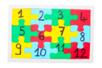 Puzzles blancs en carton - Lot de 10 - Puzzles à colorier – 10doigts.fr