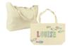 Grand sac à soufflet en coton écru - Support textile à customiser – 10doigts.fr