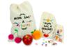 Petit sac coton à cordelette - Support textile à customiser – 10doigts.fr