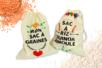 Sacs réutilisables en coton - Support textile à customiser – 10doigts.fr