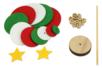 Kit sapin de Noël en feutrine - Kits d'activités Noël – 10doigts.fr