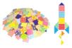 Mosaiques XXL en carte forte brillante -1000 pièces - Mosaïques en papier, carton et mousse – 10doigts.fr