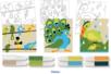 Cartes sable thème OISEAUX + 8 tubes de sable - Activités Montessori - 10doigts.fr