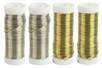 Fil métal épais Ø 0.6 mm - 4 bobines Or et Argent - Fils aluminium à modeler – 10doigts.fr