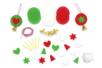 Kit création boules clochette en feutrine - Set de 6 - Kits Mercerie – 10doigts.fr