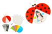Carte coccinelle mobiles à fabriquer - Kits activités clés en main – 10doigts.fr