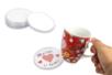 Dessous de verre à personnaliser - 6 pièces - Plastique Transparent – 10doigts.fr