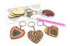 Kit porte-clés diamants - Lot de 6 - Porte-clés pour bijoux – 10doigts.fr