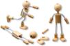 Silhouettes flexibles - Lot de 4 - Jeux et Jouets en bois – 10doigts.fr