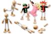 Silhouettes flexibles - Lot de 4 - Jeux et Jouets en bois - 10doigts.fr