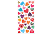 Stickers coeurs 3D - 38 stickers - Stickers Fantaisies - 10doigts.fr