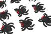 Stickers araignées pailletées - 12 pièces - Gommettes Halloween – 10doigts.fr