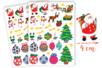 Gommettes de Noël - 2 planches - Gommettes Noël - 10doigts.fr