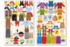 Stickers garçons à habiller - 6 planches - Gommettes Histoires et décors – 10doigts.fr