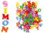 Stickers lettres majuscules en caoutchouc - 182 pièces - Gommettes Alphabet, messages - 10doigts.fr