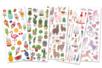 Stickers Tendance -  129 stickers pailletés - Stickers Fantaisies – 10doigts.fr