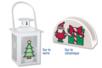 Stickers transparents à colorier Noël - Gommettes et stickers Noël – 10doigts.fr
