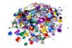 Strass multicolores - Ronds et carrés - Strass - 10doigts.fr