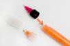 Embouts de précisions pour stylos peinture ou colle - 2 tailles - Accessoires de peintures – 10doigts.fr