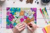 Stylos bille encre gel - 30 couleurs assorties - Stylos et feutres Fantaisies – 10doigts.fr