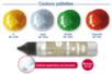 Stylos peinture 3D pailletées - 30 ml - Stylos peinture 3D – 10doigts.fr