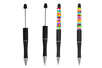 Stylos à bille à personnaliser - 6 stylos - Objets pratiques du quotidien – 10doigts.fr