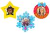 Suspensions cadres en bois de Noël - 6 formes - Suspensions et boules de Noël – 10doigts.fr