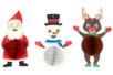 Suspensions de Noël - Set de 3 - Suspensions et boules de Noël – 10doigts.fr