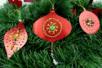 Kit suspensions à tisser - 8 pièces - Kits d'activités Noël – 10doigts.fr