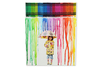 Tableau pluie de couleurs - Cadres, tableaux – 10doigts.fr