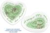 Coupelles coeur en terre cuite blanche - Lot de 4 - Supports en Céramique et Terre Cuite – 10doigts.fr