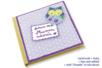 Carnet en carton déco tissu et chouette - Albums, carnets – 10doigts.fr