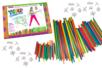 Tubes & connecteurs - Kit de construction 422 pièces - Jeu d'assemblage – 10doigts.fr
