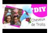 Cheveux de Trolls avec un serre-tête - Activités enfantines – 10doigts.fr