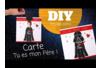 """Carte """"TU ES MON PÈRE"""" - Fête des Pères – 10doigts.fr"""