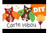 Carte Hibou - Tutos Fête des Mères – 10doigts.fr