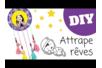 Attrape-rêves facile pour enfants - Activités enfantines – 10doigts.fr