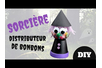 Sorcière distributeur de bonbons - Halloween – 10doigts.fr