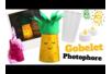 Photophores Ananas et Licorne avec des gobelets en plastique - Collage et pliage papier – 10doigts.fr
