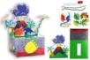 Urne volcan et dinosaures à fabriquer - Boîtes – 10doigts.fr