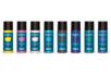 Acryl Opak 80 ml - set de 8 couleurs complémentaires : jaune citron, parme, chair, turquoise, marron, violet, vert foncé, bleu foncé - Acryliques scolaire 31095 - 10doigts.fr