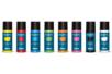 Acryl Opak 80 ml - set de 8 couleurs de base : jaune, rouge, bleu clair, vert clair, orange, rose, noir, blanc - Acryliques scolaire - 10doigts.fr