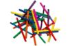 Allumettes couleurs assorties - 3 lots de 500 (1500 allumettes) - Bâtonnets, tiges, languettes 15149 - 10doigts.fr