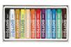Pastels à l'huile - 12 couleurs - Pastels et Fusains - 10doigts.fr