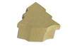 Boîte sapin 10 x 11 cm - H : 3,5 cm - L'unité - Boîtes en carton 11848 - 10doigts.fr