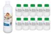 Brut de Colle 10 flacons de 80 ml + CADEAU 1 flacon de 500 ml de recharge - Colles scolaires 02792 - 10doigts.fr