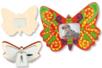 Cadre papillon en bois - Cadres photos 12564 - 10doigts.fr