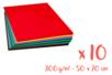 Cartes fortes (300 gr) 50 x 70 cm - 10 couleurs  - Papiers Unis 03160 - 10doigts.fr